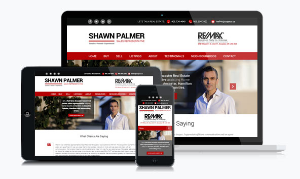 Shawn Palmer Realtor Website
