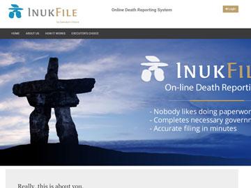 InukFile website thumbnail