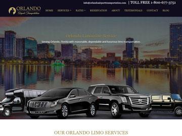 Orlando Airport Transportation website thumbnail
