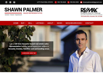 Shawn Palmer website thumbnail