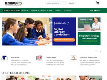 TechnoKids website thumbnail