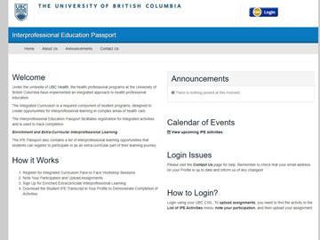 University of British Columbia Health website thumbnail