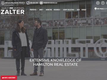 Sarit and Jordan Zalter website thumbnail
